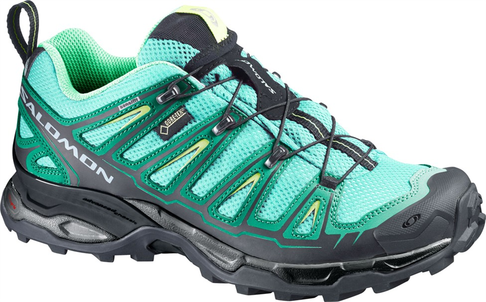 Salomon X Ultra GTX Test Wanderschuhe Damen